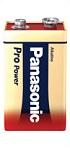 9V Baterija | 6LR61 Baterija Alkalna – Panasonic